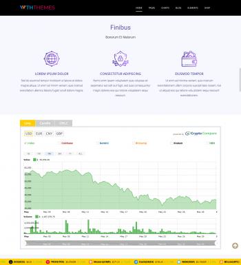 Crypto WordPress Theme