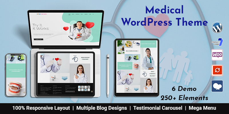 Best Medical Clinic WordPress Theme & Medical Store WordPress Theme
