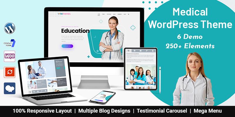 Medical And Health WordPress Themes