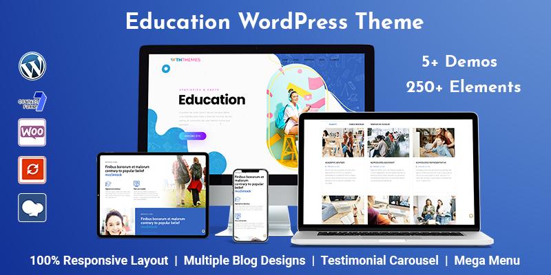 Online Course Education WordPress Theme