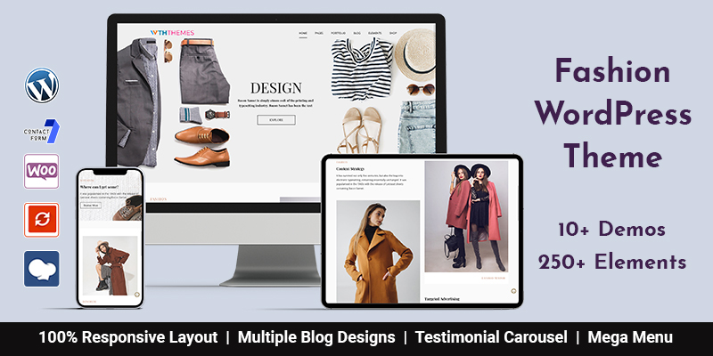 WooCommerce Fashion WordPress Themes