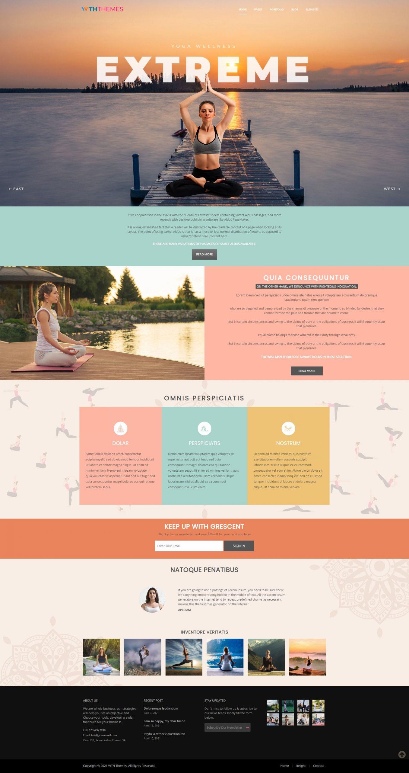 Yoga Responsive WordPress Themes