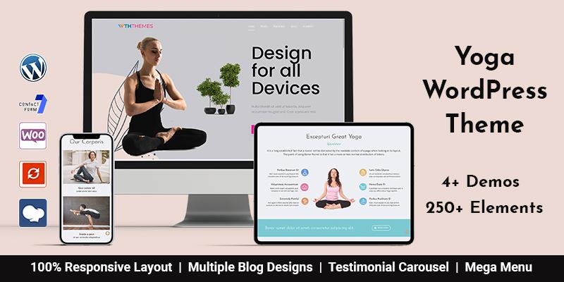 Yoga WordPress Themes