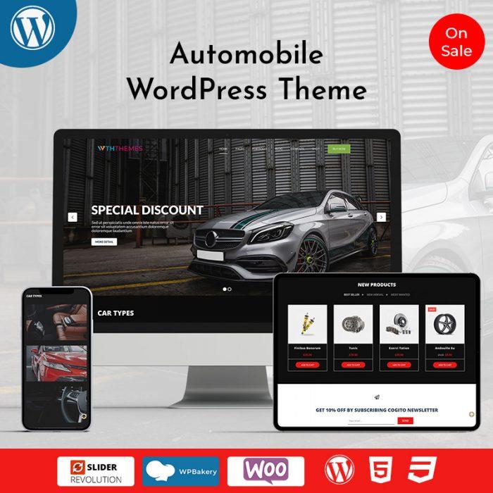 Automobile WordPress Theme