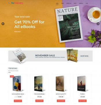 Bookshop WordPress Theme