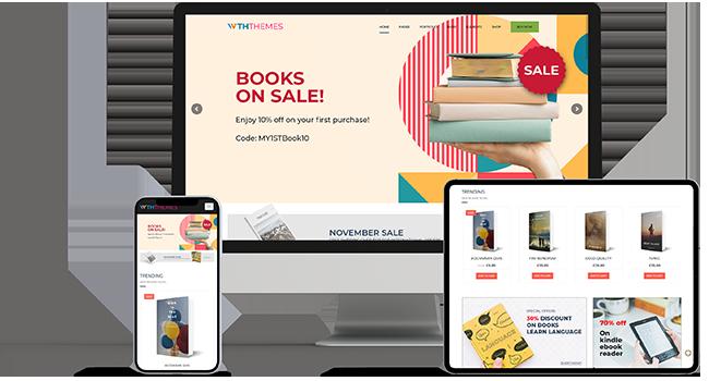 Bookshop WordPress Themes