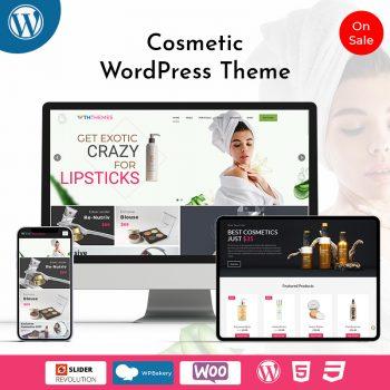 Responsive Cosmetics WordPress Themes