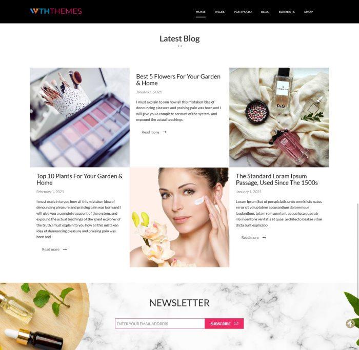 Cosmetic WordPress Themes