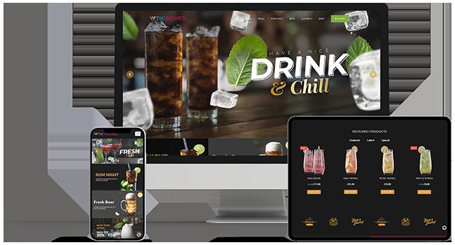 Drinks WordPress Theme