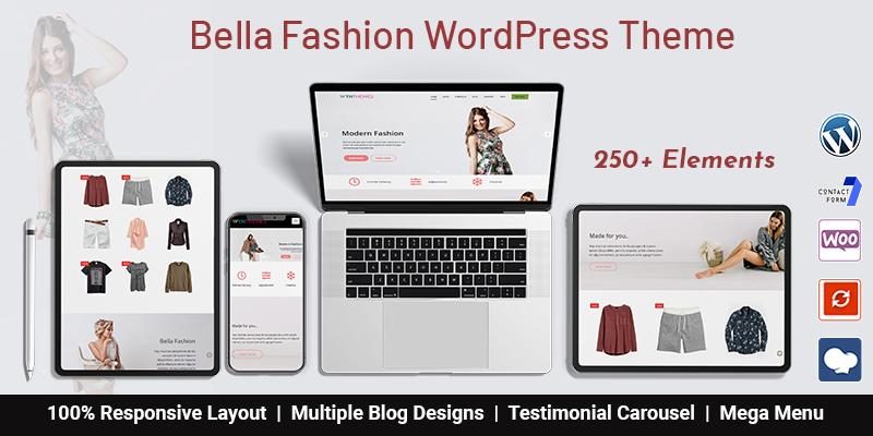 Fashion Store WordPress Theme