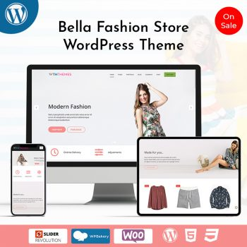 Bella Fashion Store WordPress Theme