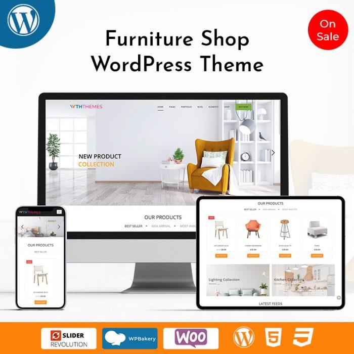 Furniture Shop WordPress Theme