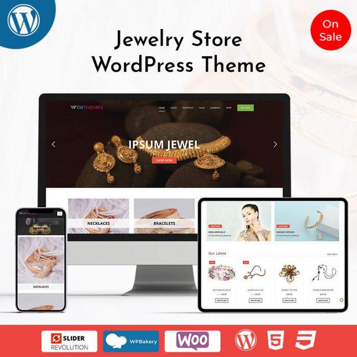 Jewelry Store WordPress Theme