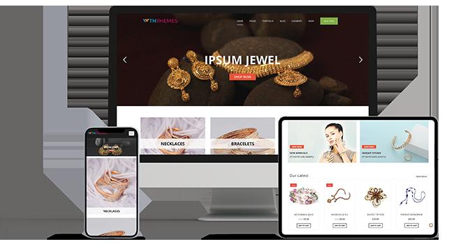 Jewelry Store WordPress Themes