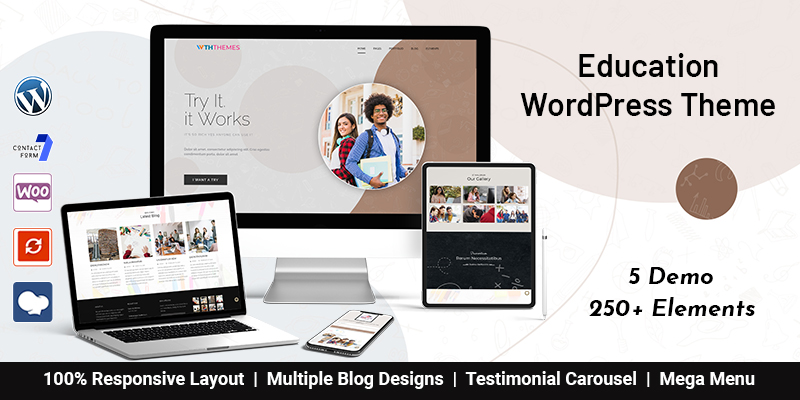 LMS Education WordPress Theme