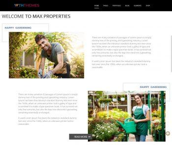 Landscape Gardening WordPress Themes