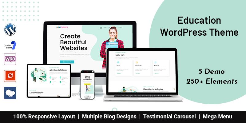 Modern Education WordPress Themes