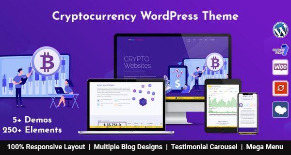 Bitcoin And CryptoCurrency WordPress Theme